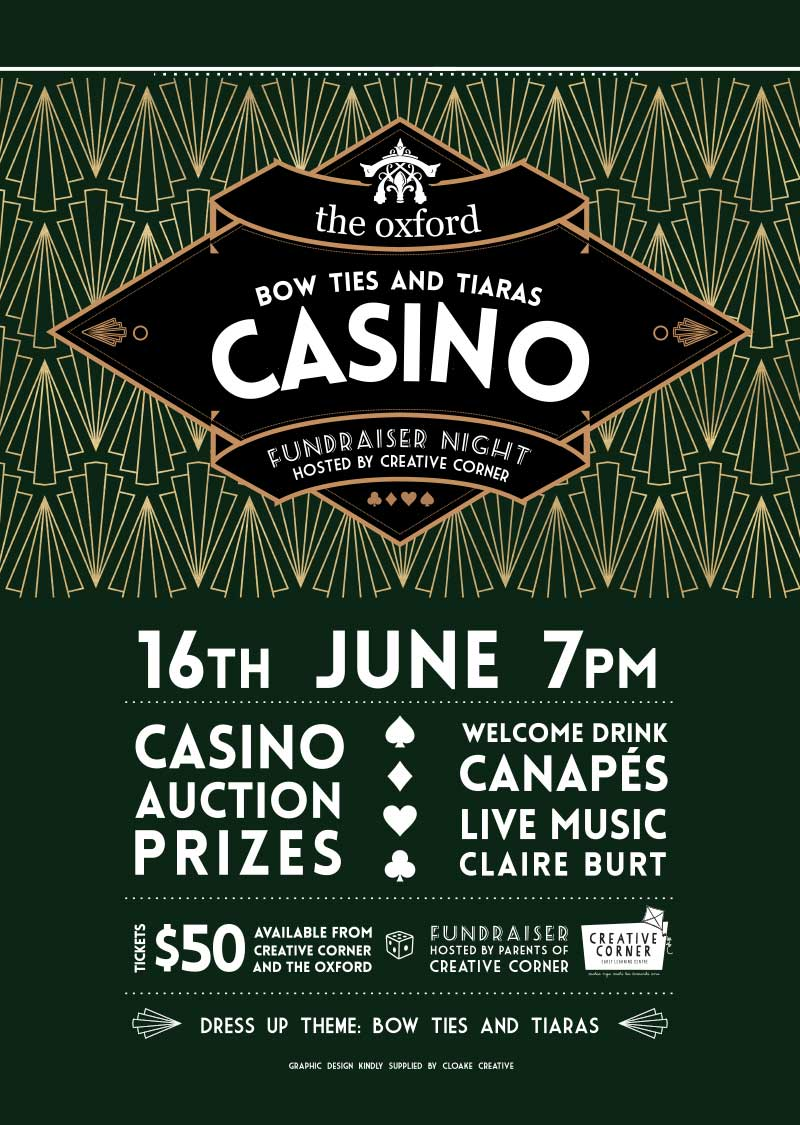 Casino Fundraising Event 2018