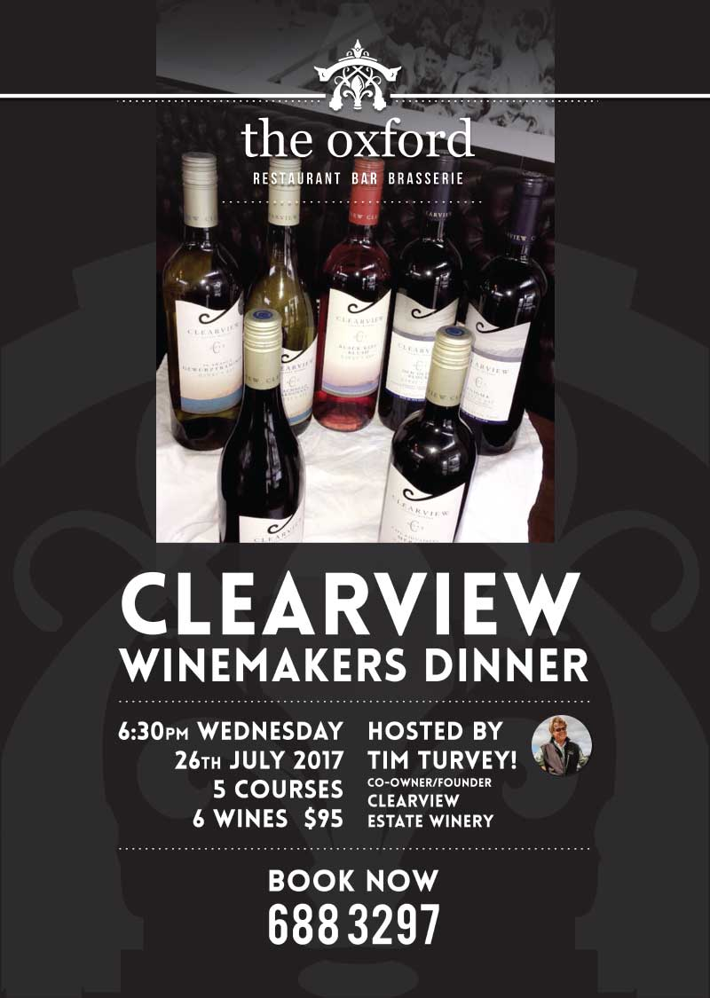 Clear View Wine Makers Dinner
