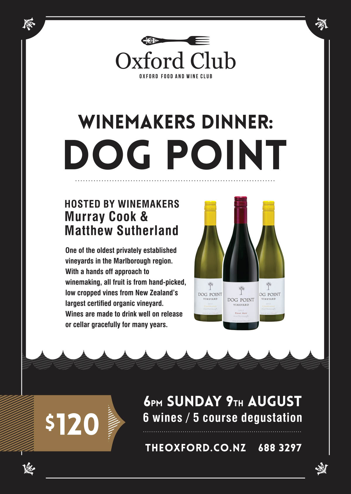 Dog Point Winemakers Night