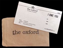Give an Oxford Gift Voucher