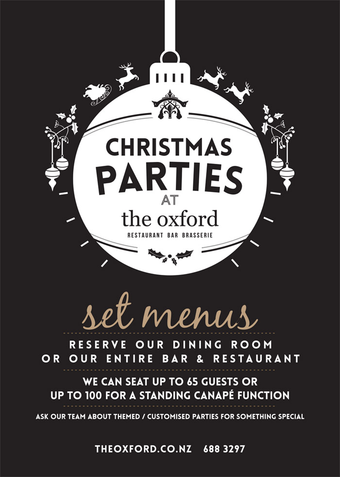 OXFORD Christmas Parties