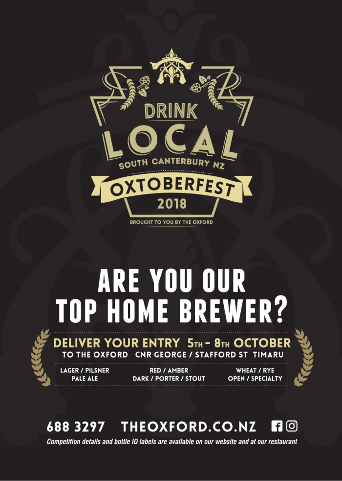 Oxtoberfest - Are you our next top home brewer?