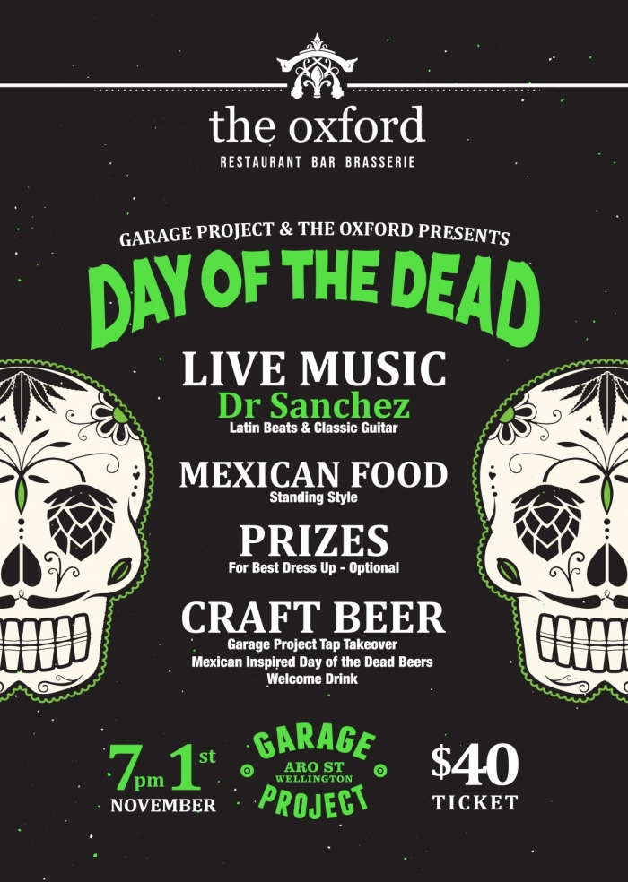 THEOXFORD_Garage Project Day Of The Dead Event