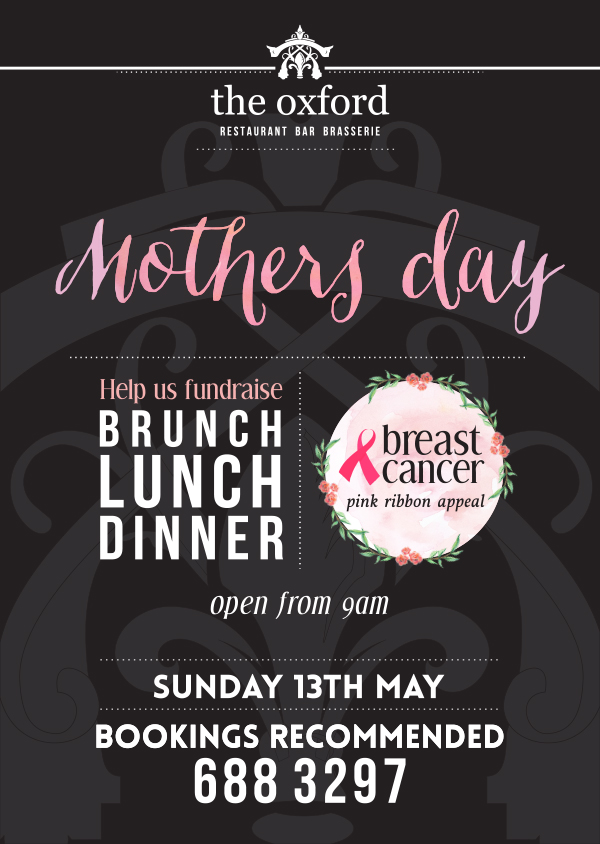 The Oxford - Mothers Day 13th May