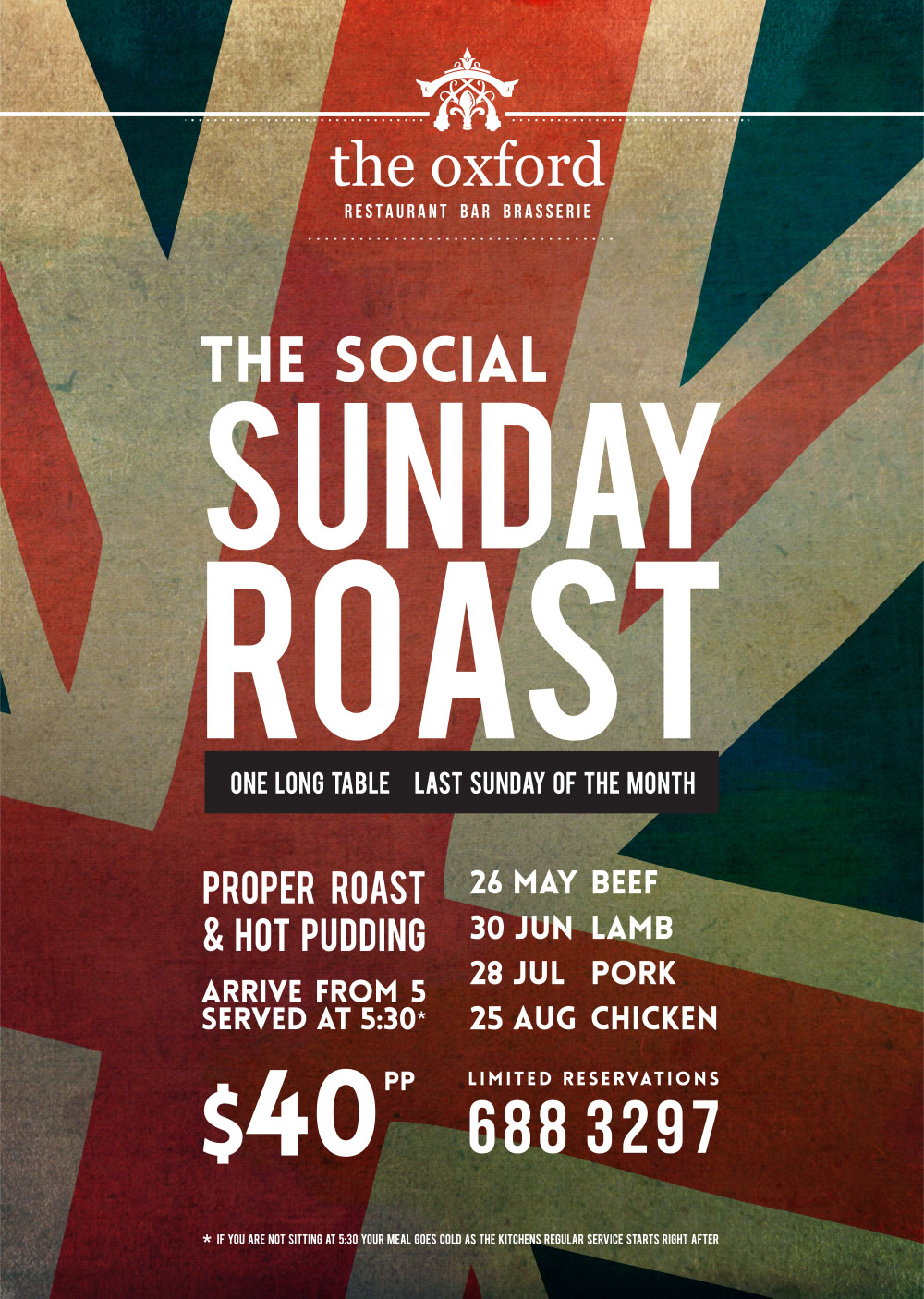 The Oxford Sunday Roast