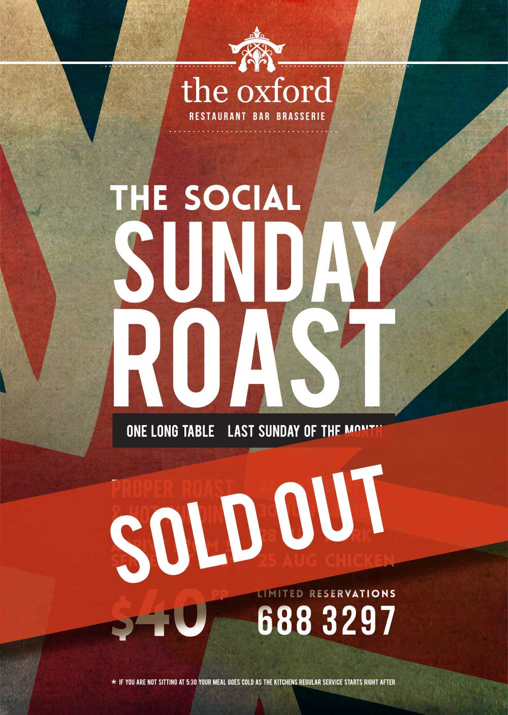 OXFORD - Social Sunday Roast