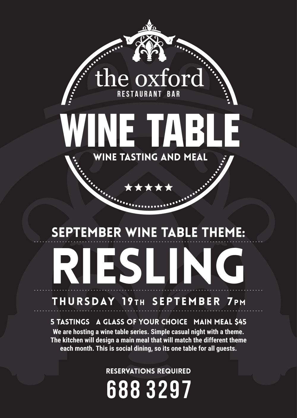 THE OXFORD Wine Night
