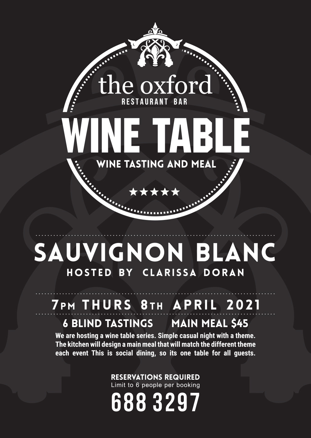 Wine Table Sauvignon Blanc
