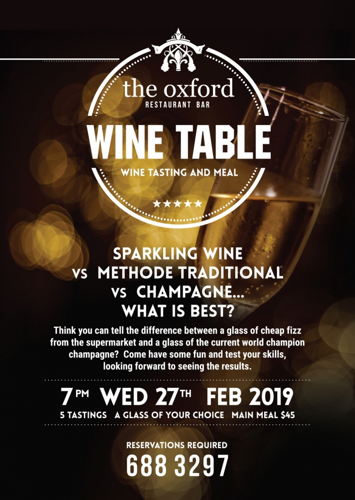 Wine Table Feb 2019